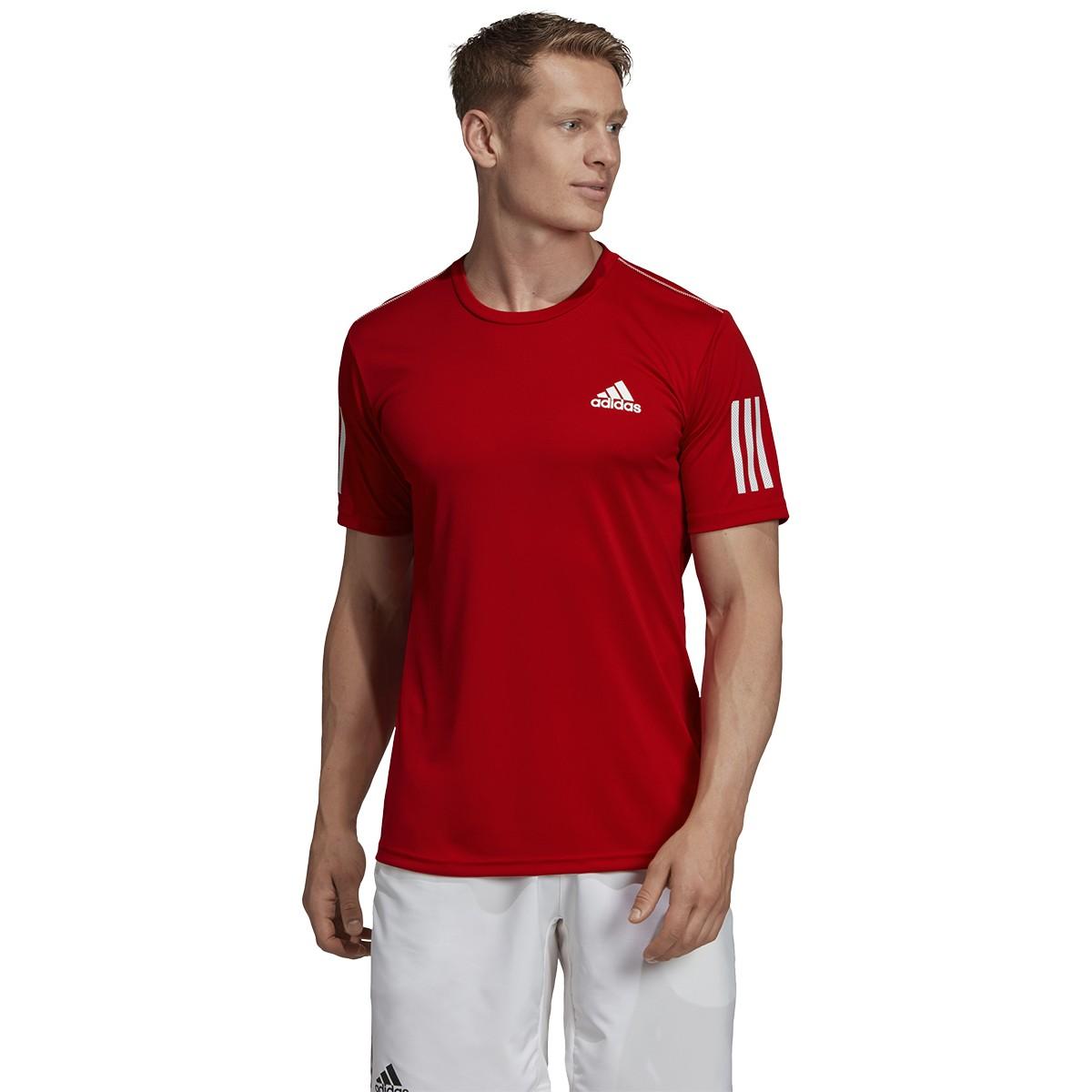 adidas 3 stripes shirt bordeaux
