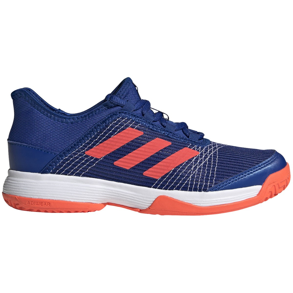 JUNIOR ADIDAS ADIZERO CLUB K ALL COURT SHOES
