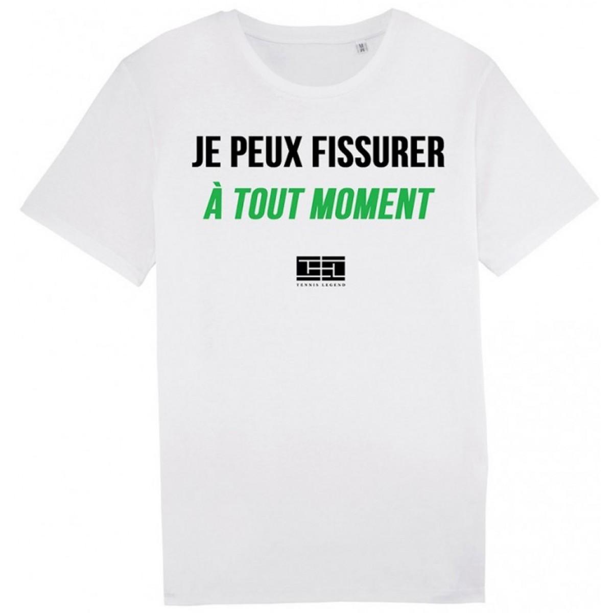 TENNIS LEGEND J'PEUX FISSURER T-SHIRT