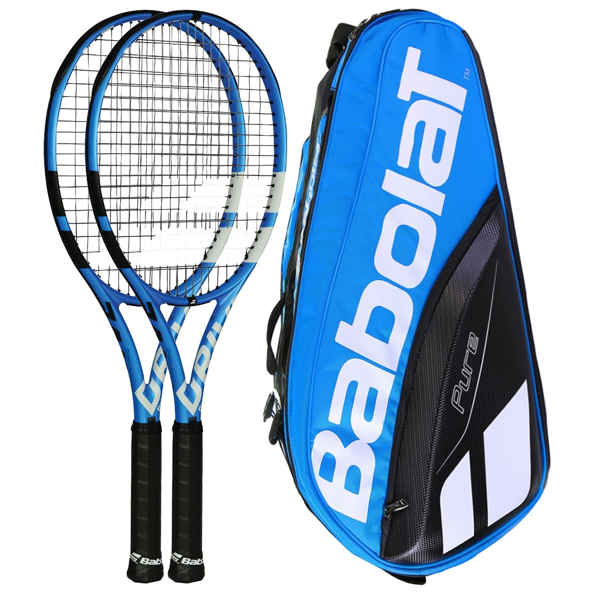 size 40 5a6bb 46f7f BABOLAT PURE DRIVE PACK - BABOLAT - Adult Racquets ...