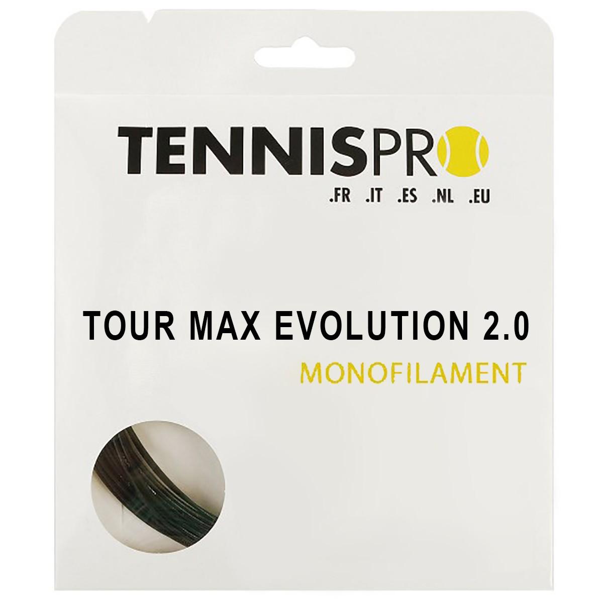 TENNISPRO TOUR MAX EVOLUTION 2.0 (12 METRES) STRING PACK
