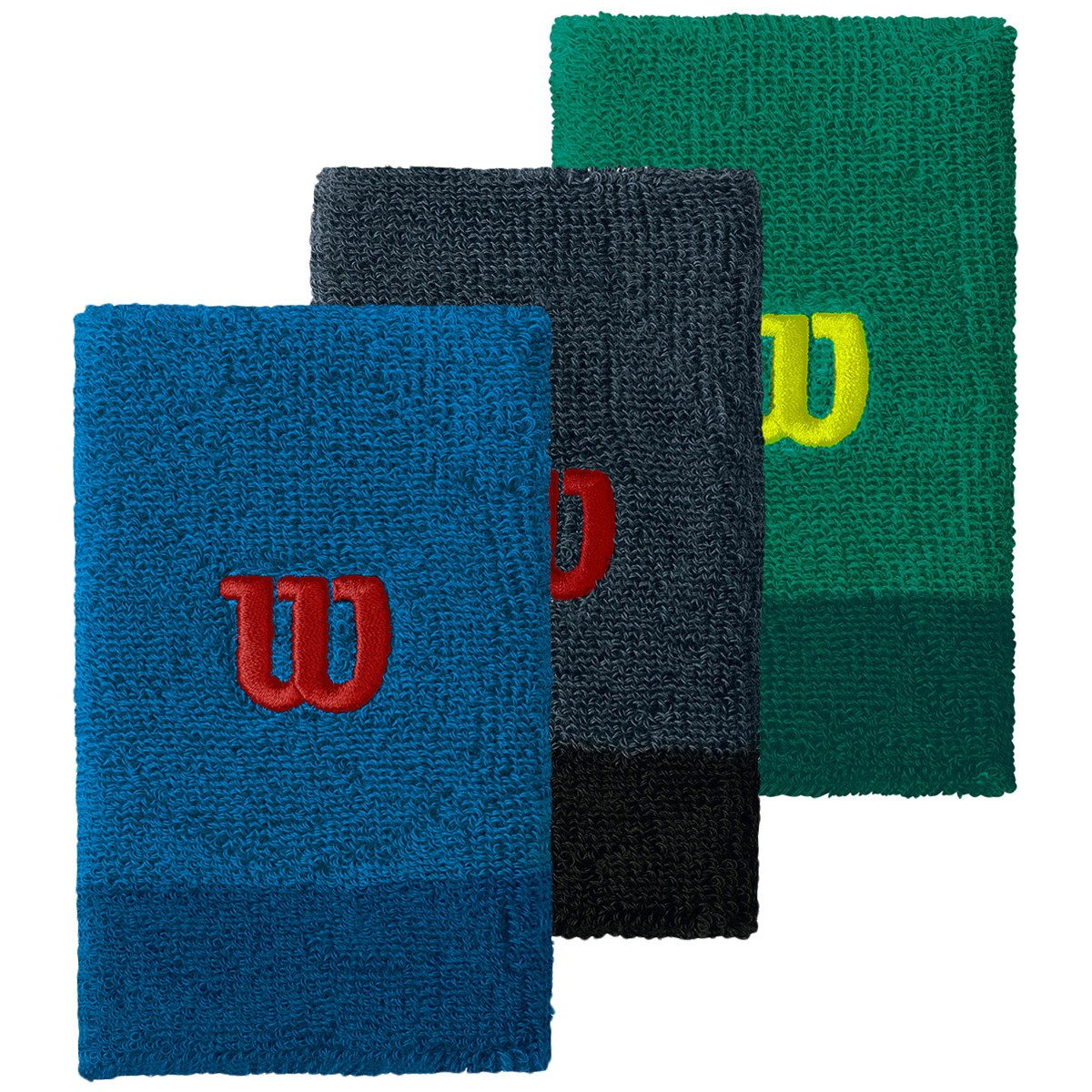WILSON EXTRA WIDE WRISTBANDS