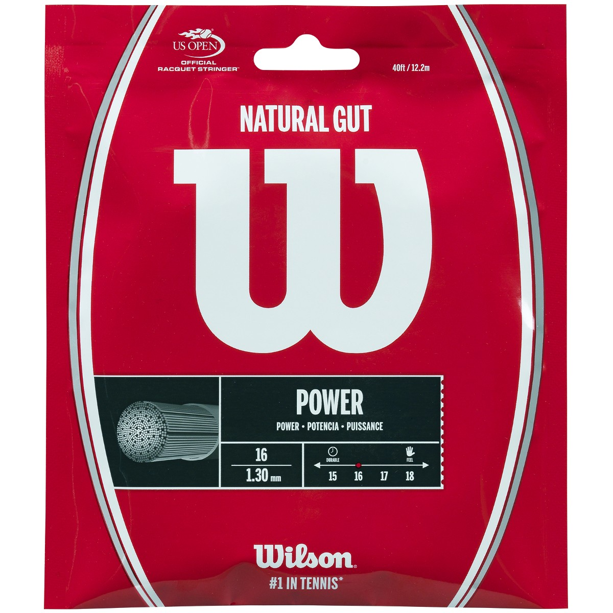WILSON NATURAL GUT (12,2 METRES) STRING PACK