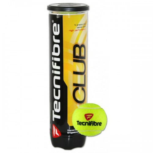 CAN OF 4  CLUB TENNIS BALLS