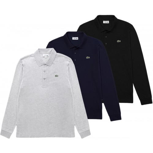 LIFESTYLE LONG SLEEVE POLO