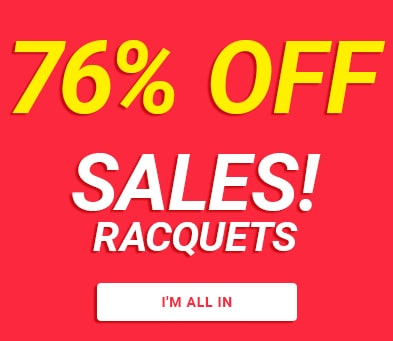 sales racquets