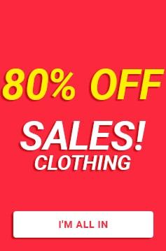 sales tennis clothing