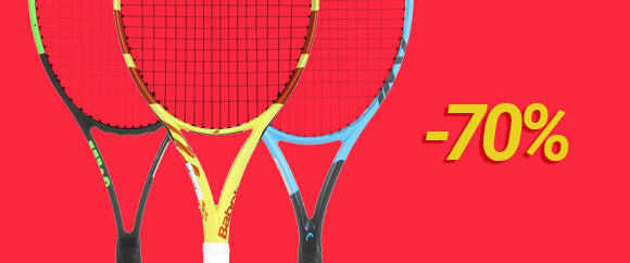 Racquets - used